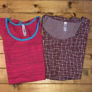 Lularoe Classic Tee Bundle 2 Tops 3XL